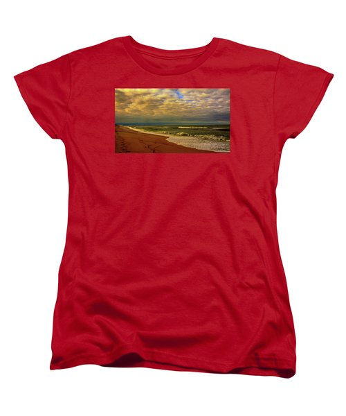 A Congregation Of Clouds Women's T-Shirt (Standard Cut) by John Harding