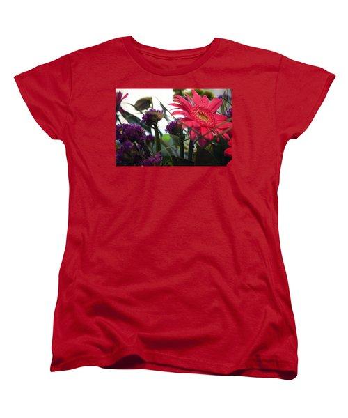 A Daisy And Friends Women's T-Shirt (Standard Cut) by Karen Nicholson