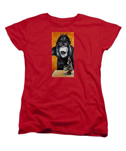 A Different Drummer Women's T-Shirt (Standard Cut) by Jean Cormier