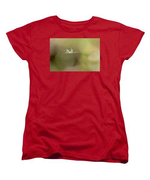 A Drop Of Subtlety Women's T-Shirt (Standard Cut) by Janet Dagenais Rockburn
