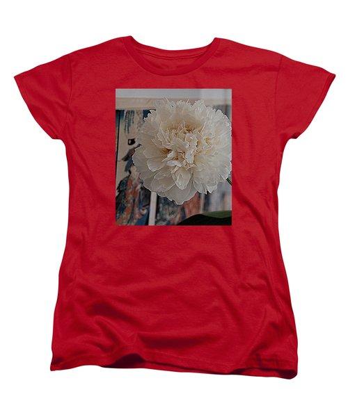 A Fluff Of Petals Women's T-Shirt (Standard Cut) by Nancy Kane Chapman