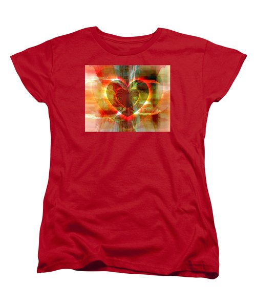 A Forgiving Heart Women's T-Shirt (Standard Cut) by Fania Simon