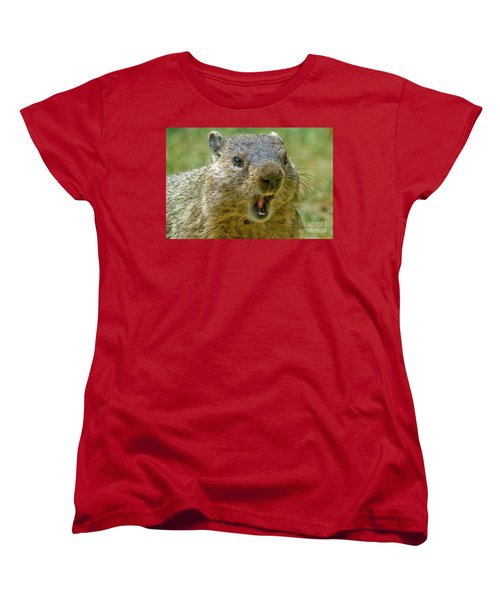 A Hungry Fellow  Women's T-Shirt (Standard Cut) by Paul W Faust - Impressions of Light