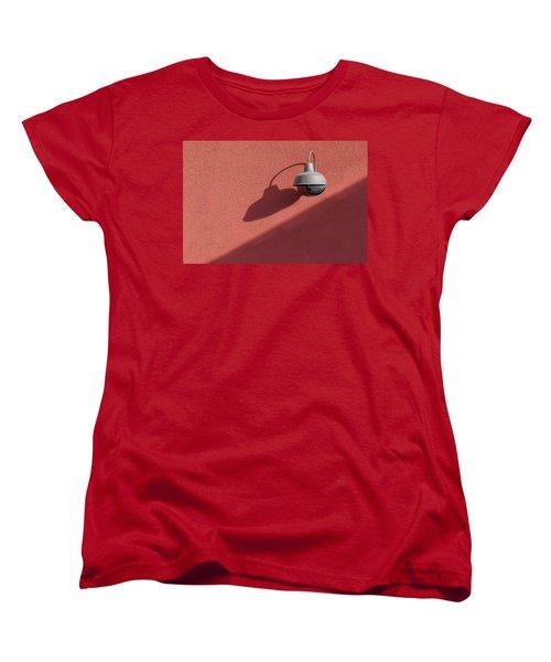Women's T-Shirt (Standard Cut) featuring the photograph A Light Alone by Paul Wear