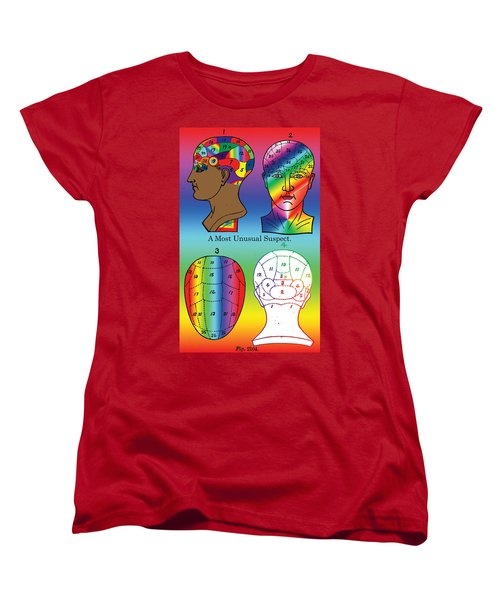 A Most Unusual Suspect Women's T-Shirt (Standard Cut)