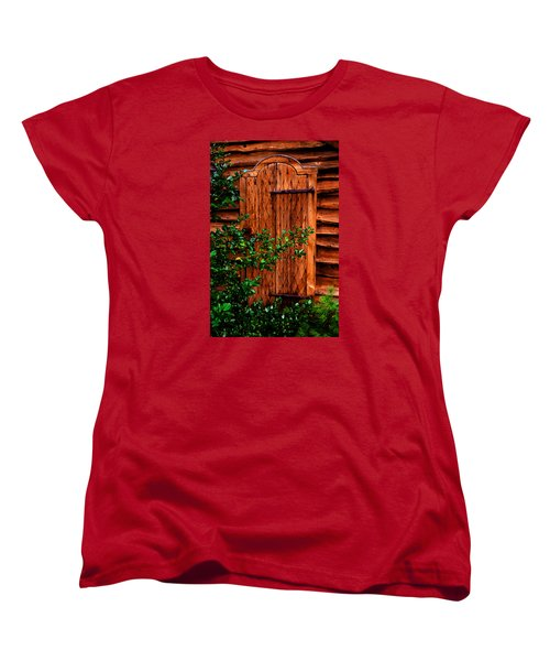 Women's T-Shirt (Standard Cut) featuring the photograph A Mystery by Richard Ortolano