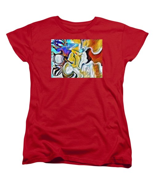 Women's T-Shirt (Standard Cut) featuring the photograph A New Day Coming by Kathie Chicoine