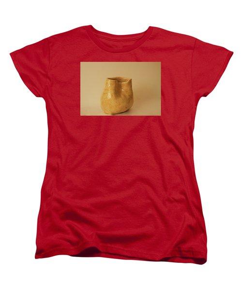 A Pot On A Leaf Women's T-Shirt (Standard Cut) by Itzhak Richter