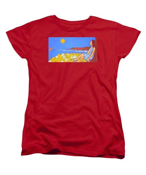 A Quiet Place Women's T-Shirt (Standard Cut) by Winsome Gunning
