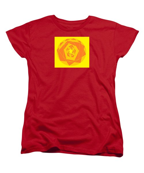 A Rose By Any Other Name 1 Women's T-Shirt (Standard Cut) by Linda Velasquez