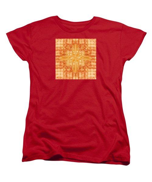 Women's T-Shirt (Standard Cut) featuring the digital art A Splash Of Colors by Michelle H