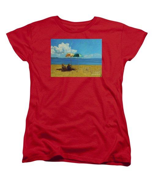 A Vacant Lot - Byron Bay Women's T-Shirt (Standard Cut)