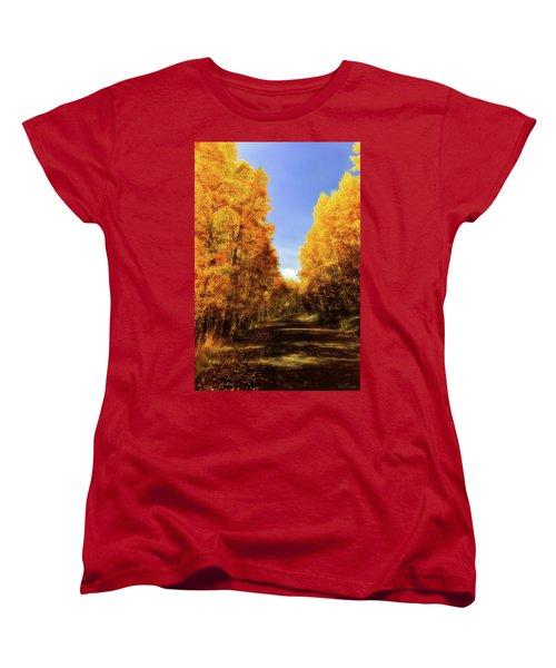 A Walk Down Memory Lane Women's T-Shirt (Standard Cut) by Rick Furmanek