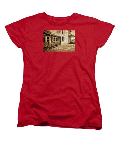 Abandoned House 2 Women's T-Shirt (Standard Cut) by Bonnie Bruno