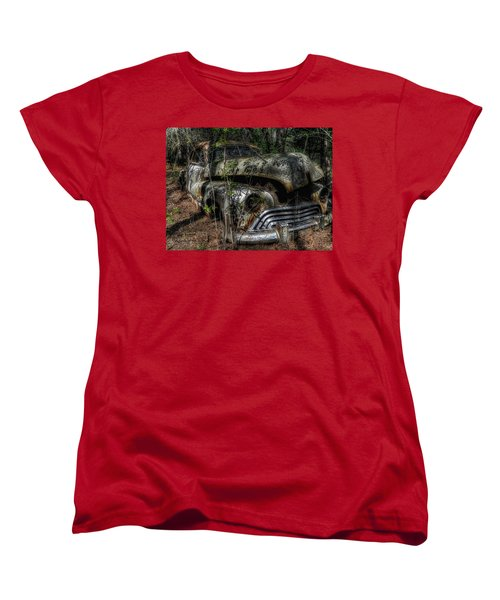 Women's T-Shirt (Standard Cut) featuring the photograph Abandoned In Helvetia by Trey Foerster