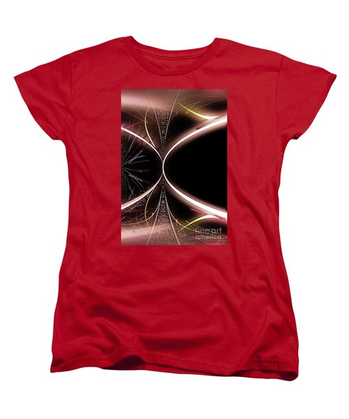 Abstract 302-2015 Women's T-Shirt (Standard Cut) by John Krakora