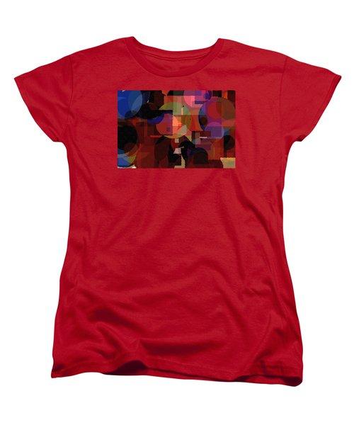 Abstract 33017-2 Women's T-Shirt (Standard Cut) by Maciek Froncisz