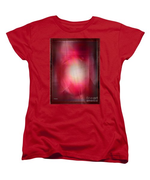 Abstract 707-2015 Women's T-Shirt (Standard Cut) by John Krakora