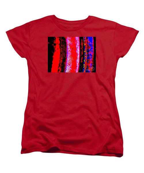 Abstract  Abstraction Women's T-Shirt (Standard Cut) by Tim Townsend