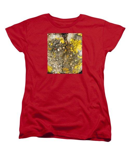 Abstract Art Seen In Parking Lot Women's T-Shirt (Standard Cut) by Sandra Church