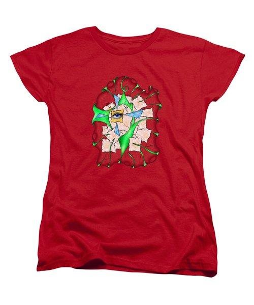 Abstract Digital Art - Deniteus V2 Women's T-Shirt (Standard Fit)