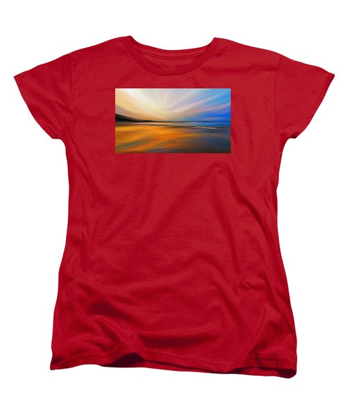 Women's T-Shirt (Standard Cut) featuring the digital art Abstract Energy by Anthony Fishburne