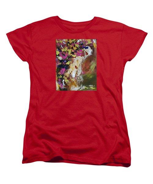 Abstract Floral Study Women's T-Shirt (Standard Cut)