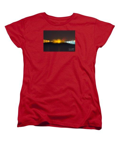 Women's T-Shirt (Standard Cut) featuring the photograph Abstract Light  by Odon Czintos