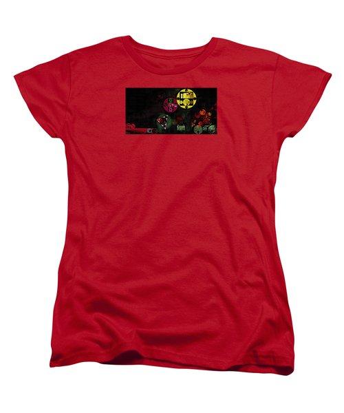 Abstract Painting - Metallic Gold Women's T-Shirt (Standard Cut) by Vitaliy Gladkiy