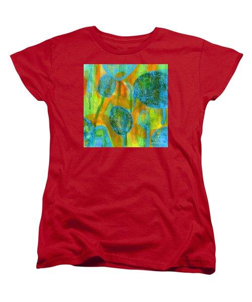 Abstract Painting No. 1 Women's T-Shirt (Standard Cut) by David Gordon