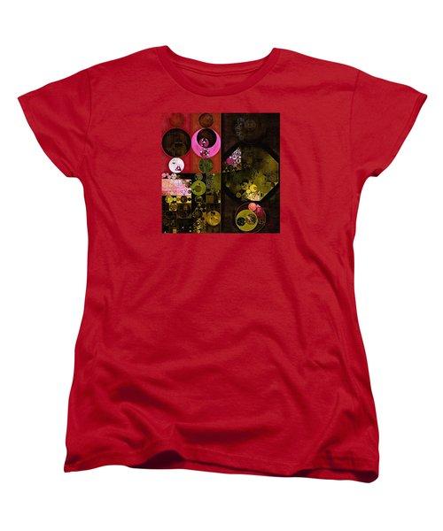 Abstract Painting - Tonys Pink Women's T-Shirt (Standard Cut) by Vitaliy Gladkiy