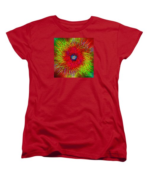 Women's T-Shirt (Standard Cut) featuring the photograph Abstract Swirl 03 by Jack Torcello