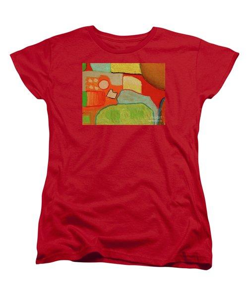 Abstraction123 Women's T-Shirt (Standard Cut) by Paul McKey