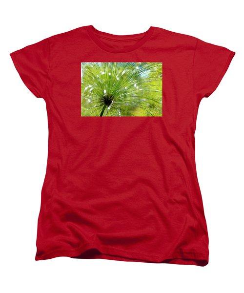 Abstrct Grass Women's T-Shirt (Standard Cut) by Nicholas Burningham