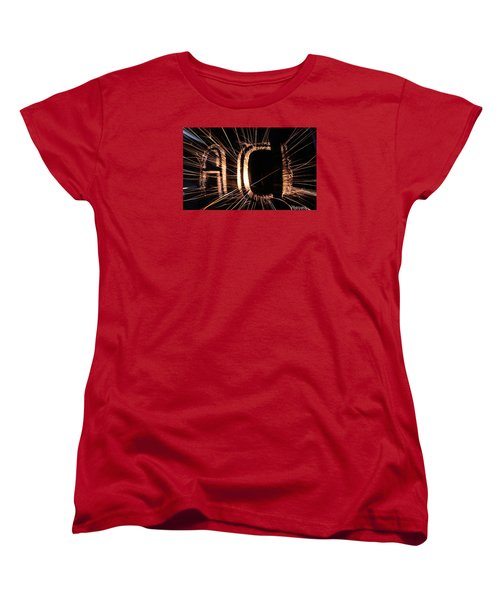 ACL Women's T-Shirt (Standard Cut) by Andrew Nourse