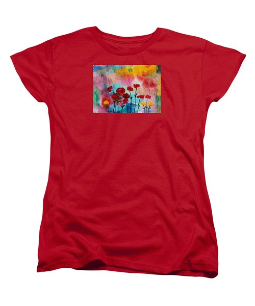 Acrylic Msc 101 Women's T-Shirt (Standard Cut) by Mario Sergio Calzi