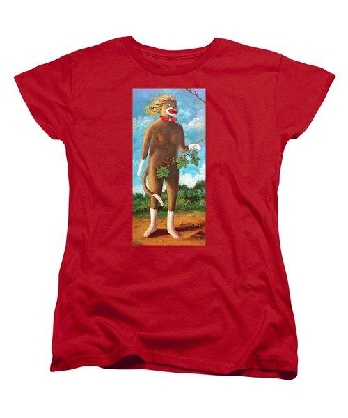 Adam  Women's T-Shirt (Standard Cut) by Randy Burns