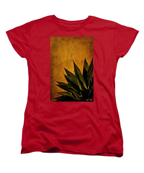 Adobe And Agave At Sundown Women's T-Shirt (Standard Cut) by Chris Lord
