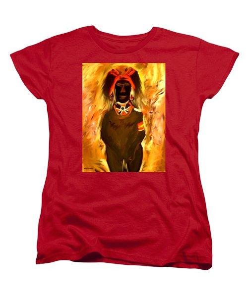 African Warrior Women's T-Shirt (Standard Cut) by Kelly Turner