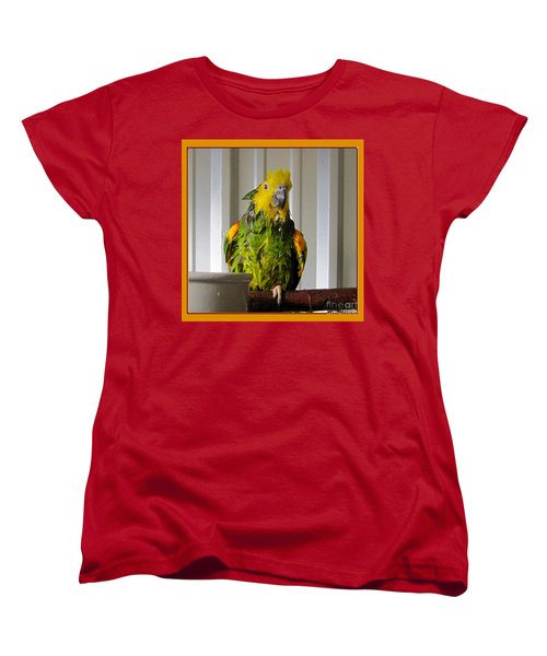 Women's T-Shirt (Standard Cut) featuring the photograph After The Bath by Victoria Harrington
