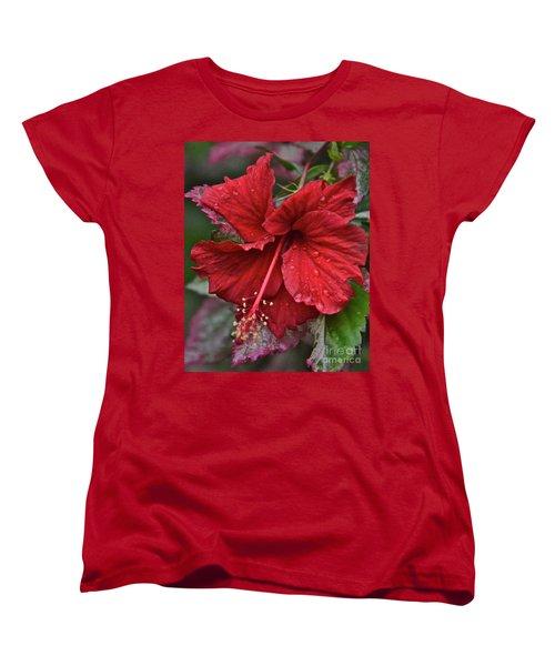 Women's T-Shirt (Standard Cut) featuring the photograph After The Rain by Carol  Bradley