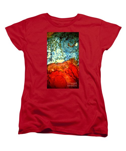 After The Storm The Dust Settles Women's T-Shirt (Standard Cut) by Angela L Walker