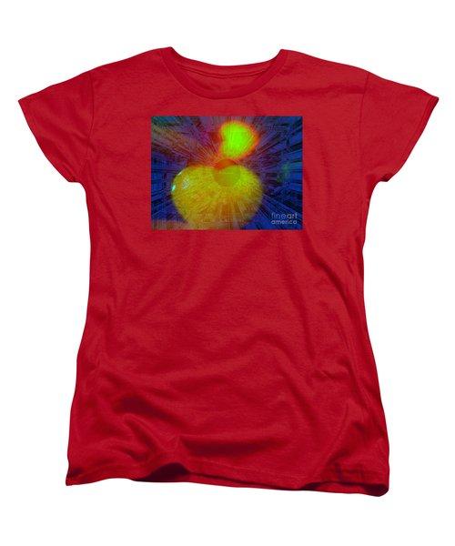 Agape Women's T-Shirt (Standard Cut) by Fania Simon