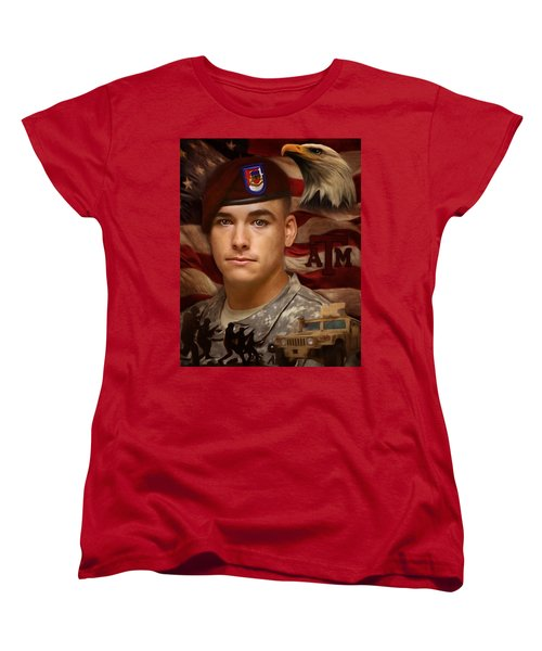 Aggie Hero For Sure Women's T-Shirt (Standard Cut) by Ken Pridgeon