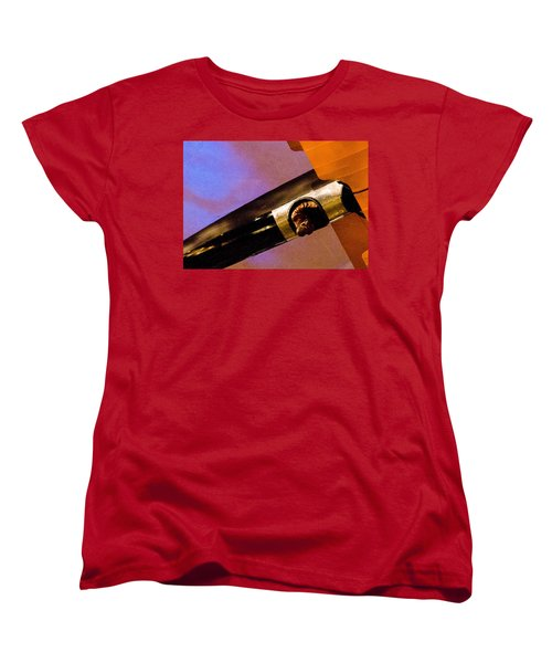 Women's T-Shirt (Standard Cut) featuring the photograph Air Mail by Michael Nowotny