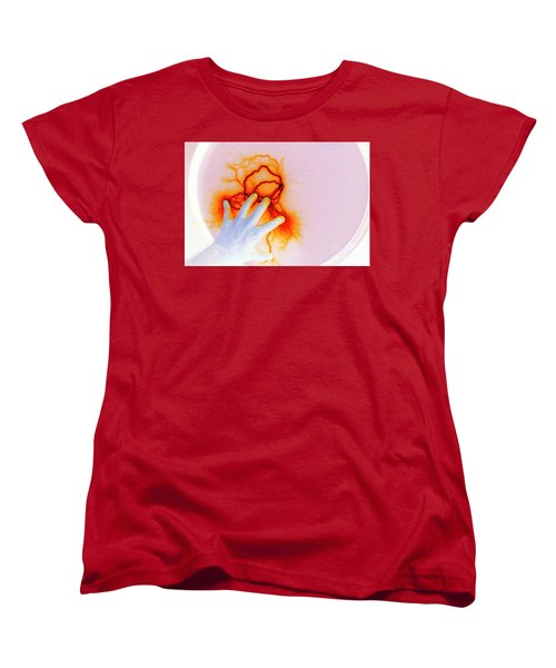 Women's T-Shirt (Standard Cut) featuring the photograph Alien Encounter Outside Looking In by Paul W Faust - Impressions of Light