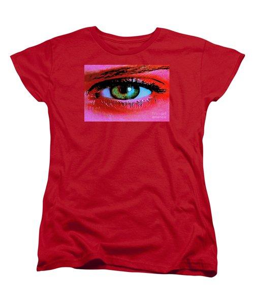 Women's T-Shirt (Standard Cut) featuring the photograph All Seeing by Xn Tyler