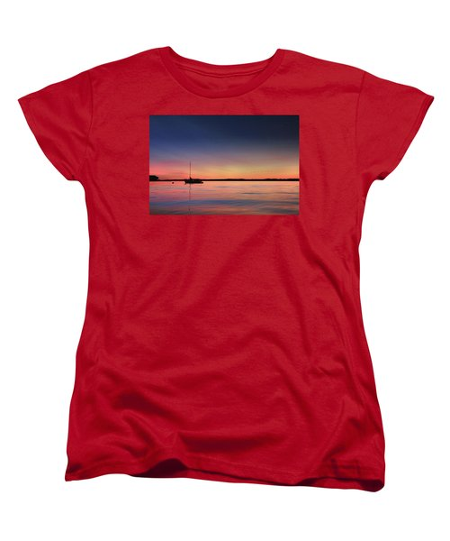 Women's T-Shirt (Standard Cut) featuring the photograph Almost Paradise by Lori Deiter