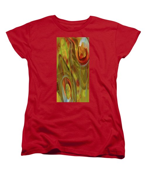Women's T-Shirt (Standard Cut) featuring the digital art Almost  Resting II by Steve Sperry