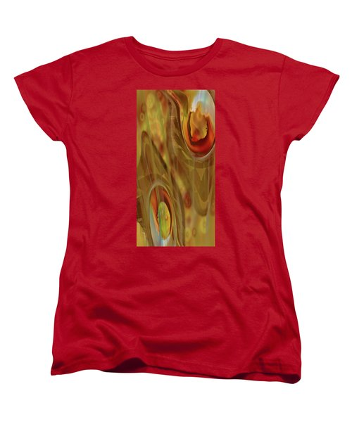 Women's T-Shirt (Standard Cut) featuring the digital art Almost Resting by Steve Sperry